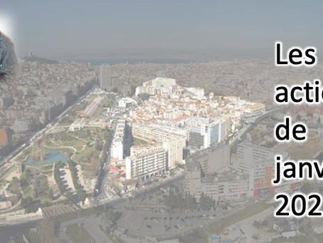 BILAN DES ACTIONS DU MOIS DE JANVIER 2021