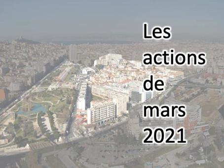 BILAN DES ACTIVITES DU MOIS DE MARS.