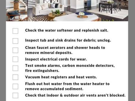 February Maintenance Tips