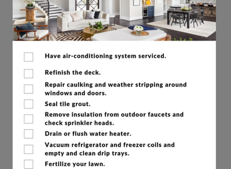 April Home Maintenance Tips