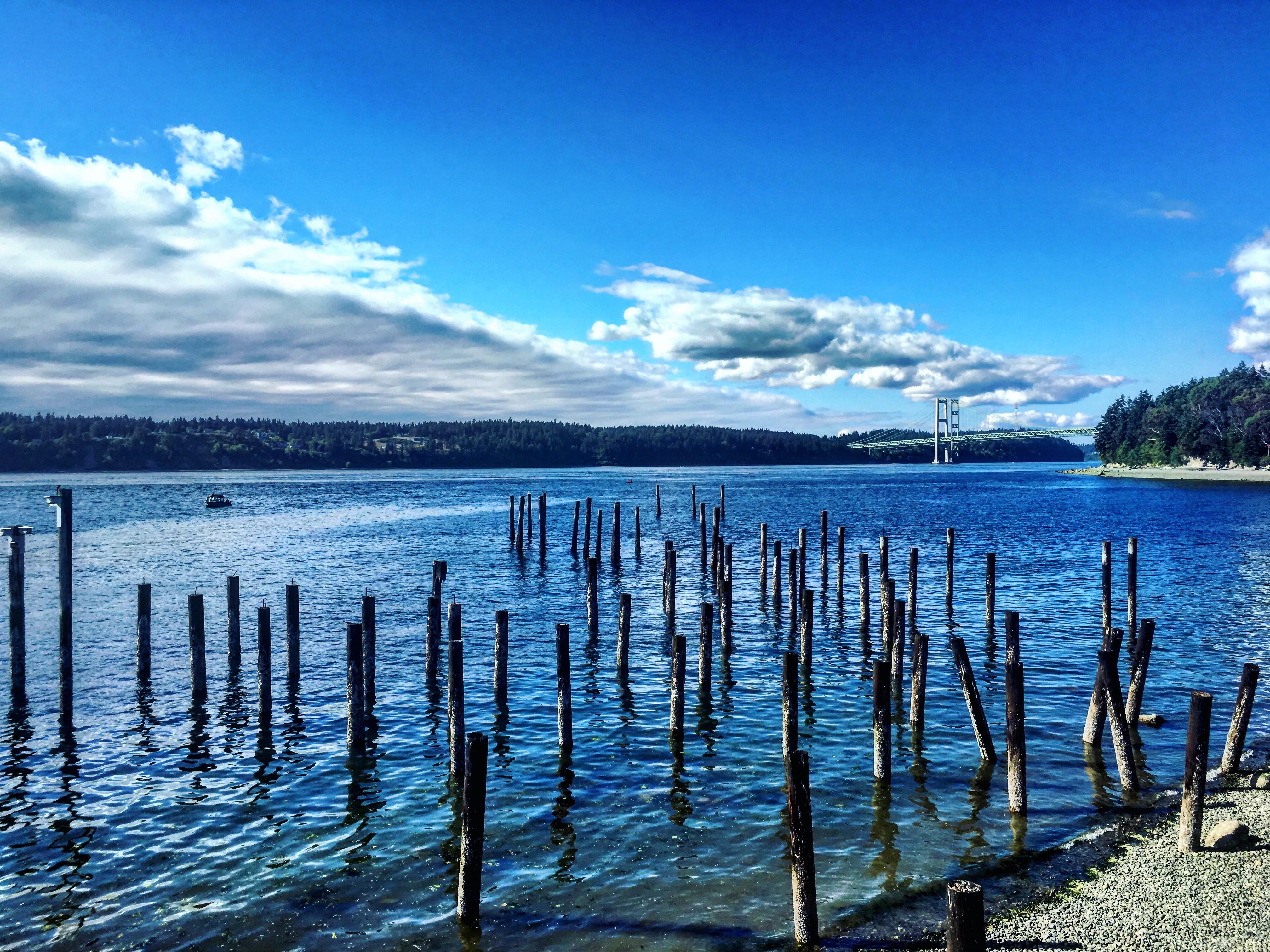 Narrows bridge in Tacoma