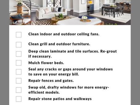 June Home Maintenance Tips