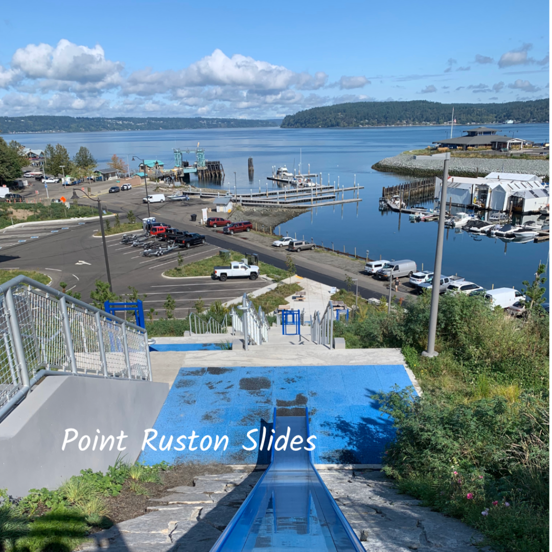 Point Ruston slides