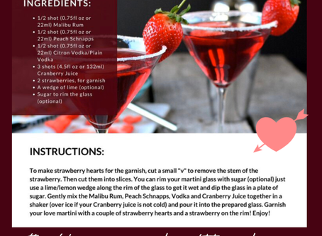 Valentine's Day Martini