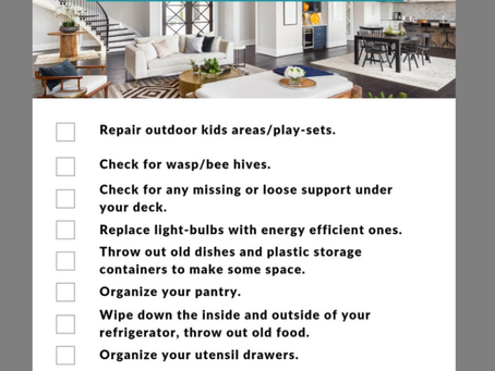 July Home Maintenance Tips