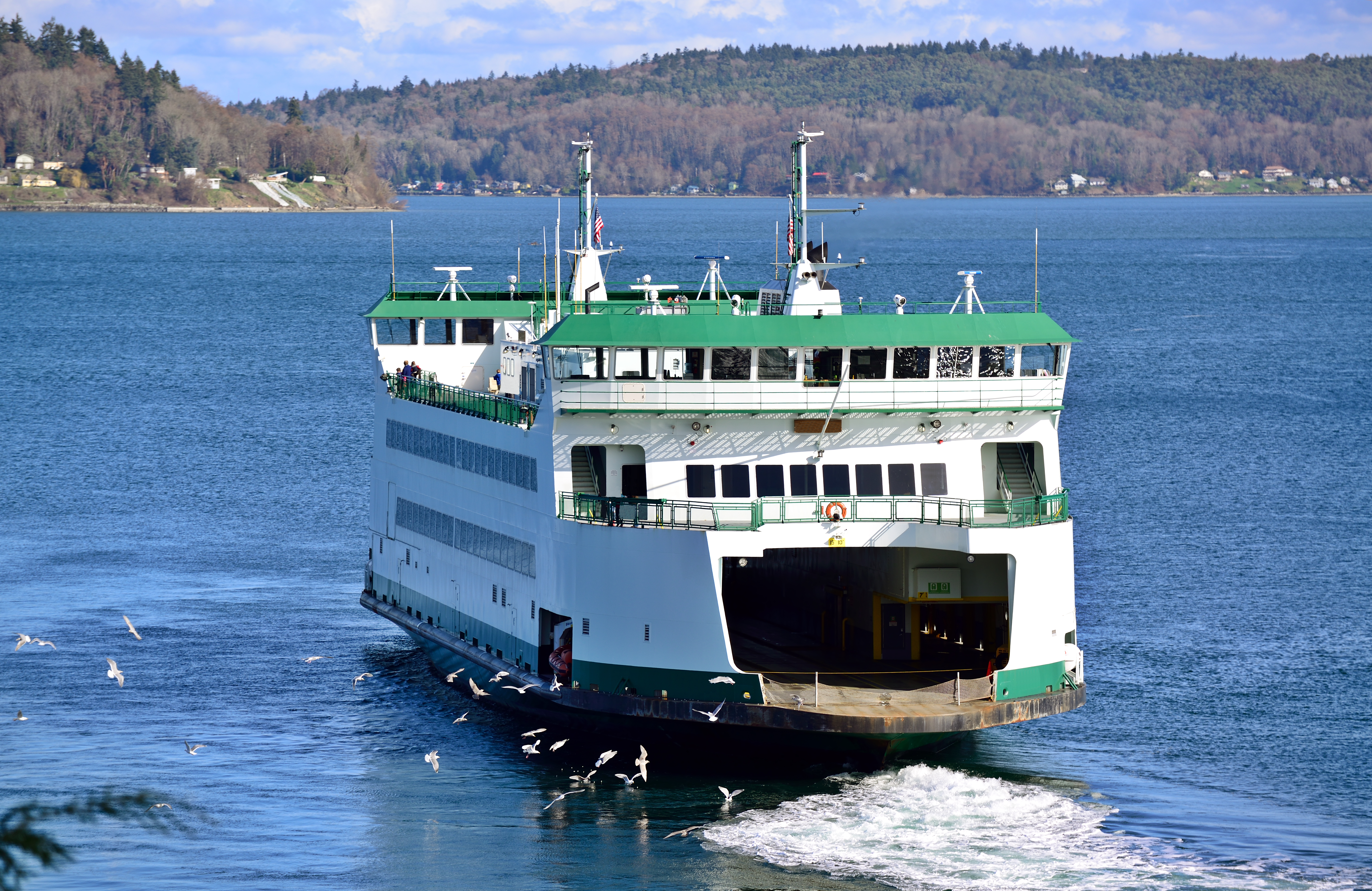 Point Defiance Ferry