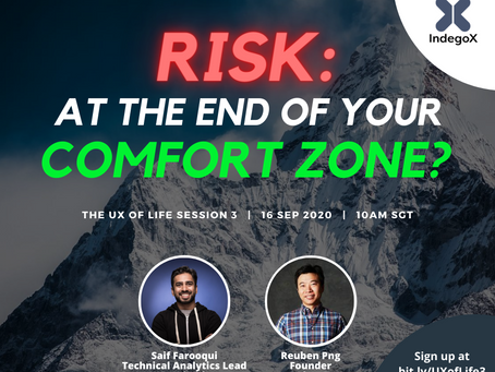 The UX of Life Session 3: How do you take Risks? (16 September 2020)