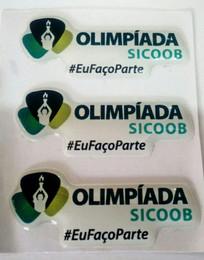 Adesivo Resinado Olimpíada Sicoob.
