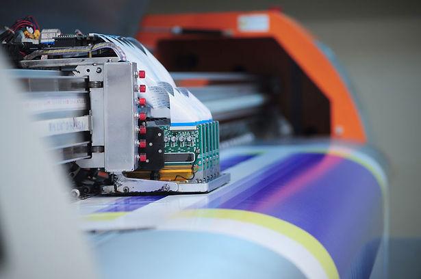 Impressora para adesivo resinado
