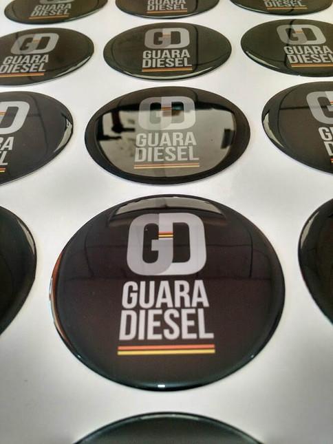 Adesivo Resinado Guara Diesel