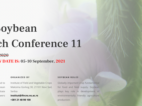 5.9 - 10.9.2021: World Soybean Research Conference 11
