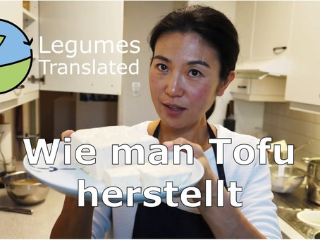 'Make your own tofu in the traditional Japanese way' video published