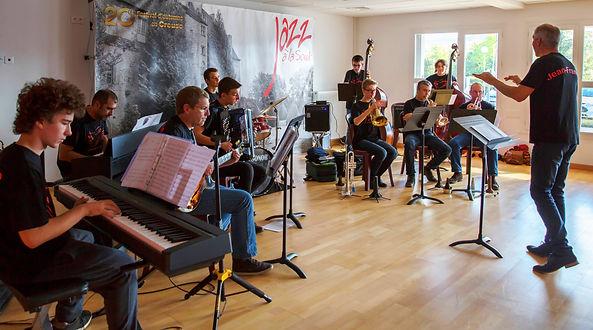 Ensemble jazz Conservatoire de Guéret