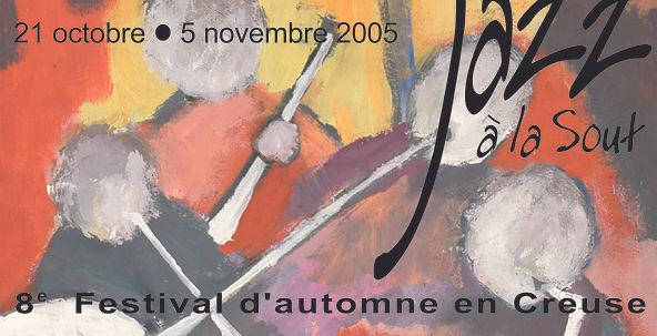 Affiche Jazz à La Sout édition 2005