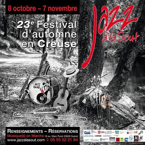 Affiche Jazz à La Sout 2021