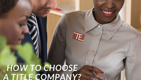 How to choose a title company?