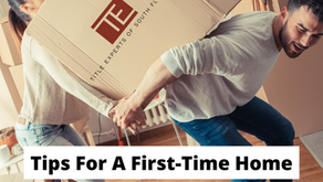 Tips for first time homeowners