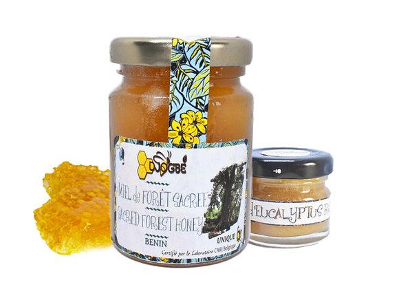 Pack Miel Forêt sacrée et Miel Eucalyptus