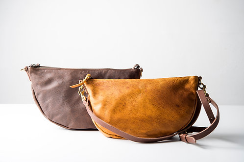 boga crescent moon shoulder bag