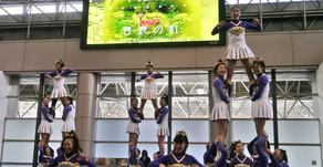 【文鹿祭 Bunkasai 春鹿の杜】「梅花女子大学チアリーディング部レイダース」によるパフォーマンスご報告