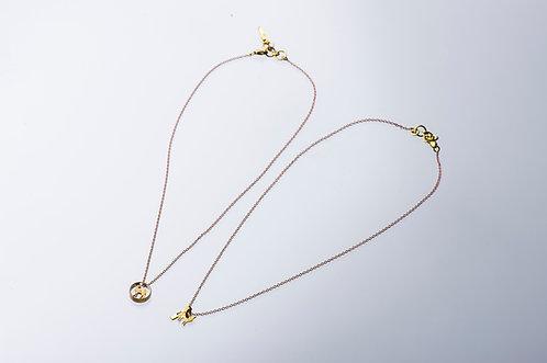 boga bullet fawn necklace