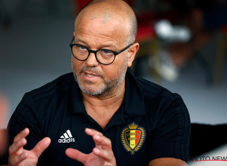 Afscheid bij de Koninklijke Belgische Voetbalbond
