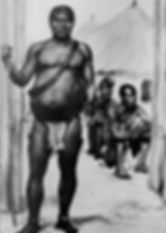 King Lobengula of the Matabele