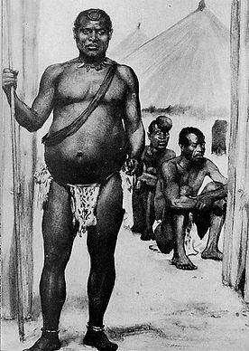 King Lobengula of the Matabele