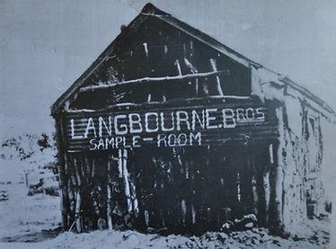Langbourne Sample Room 1893