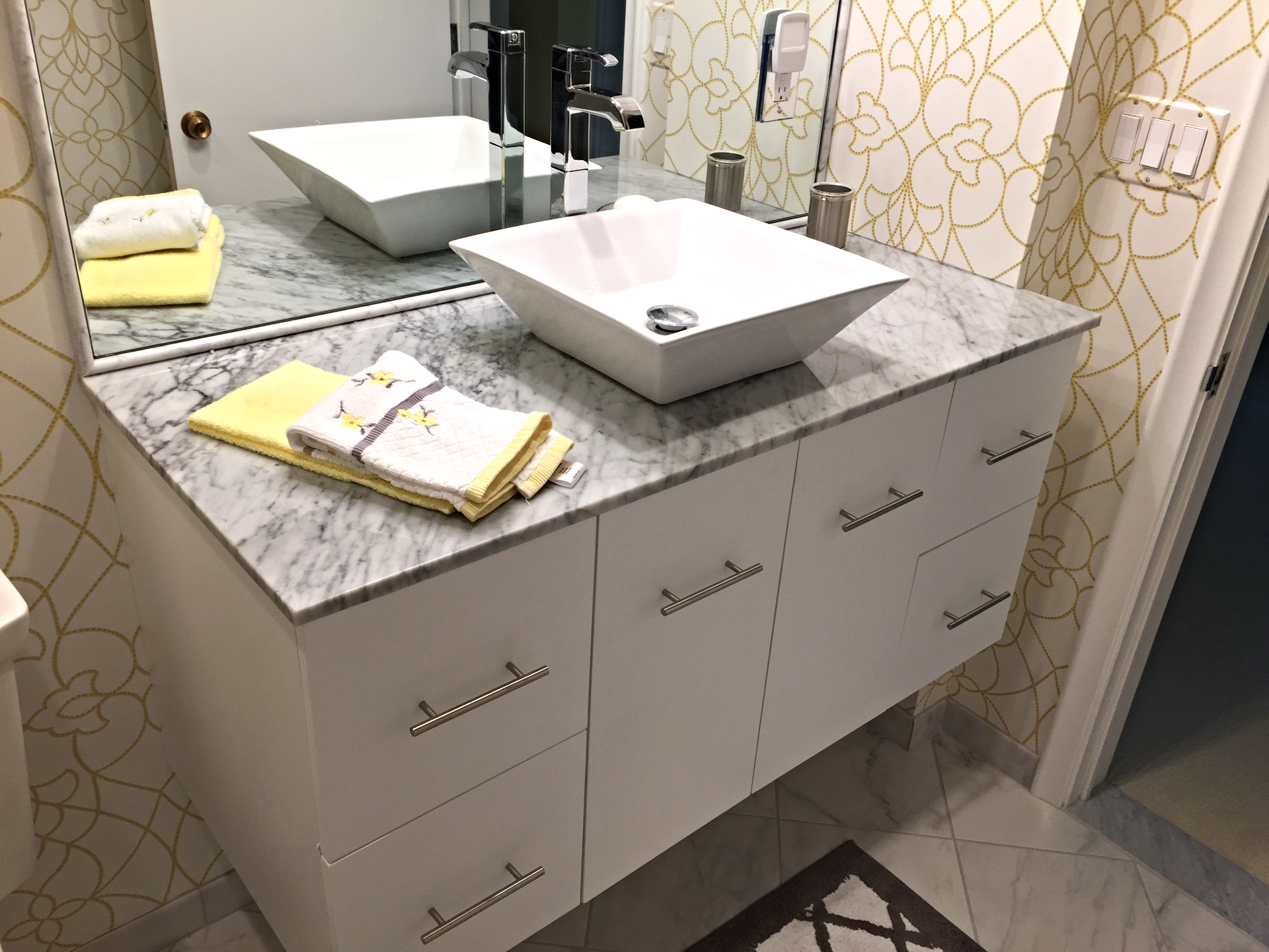 Floating Contemporary Vanity