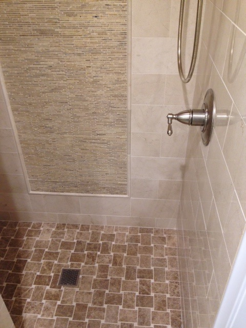 Basket Weave Floor & Mosaic Wall Pattern