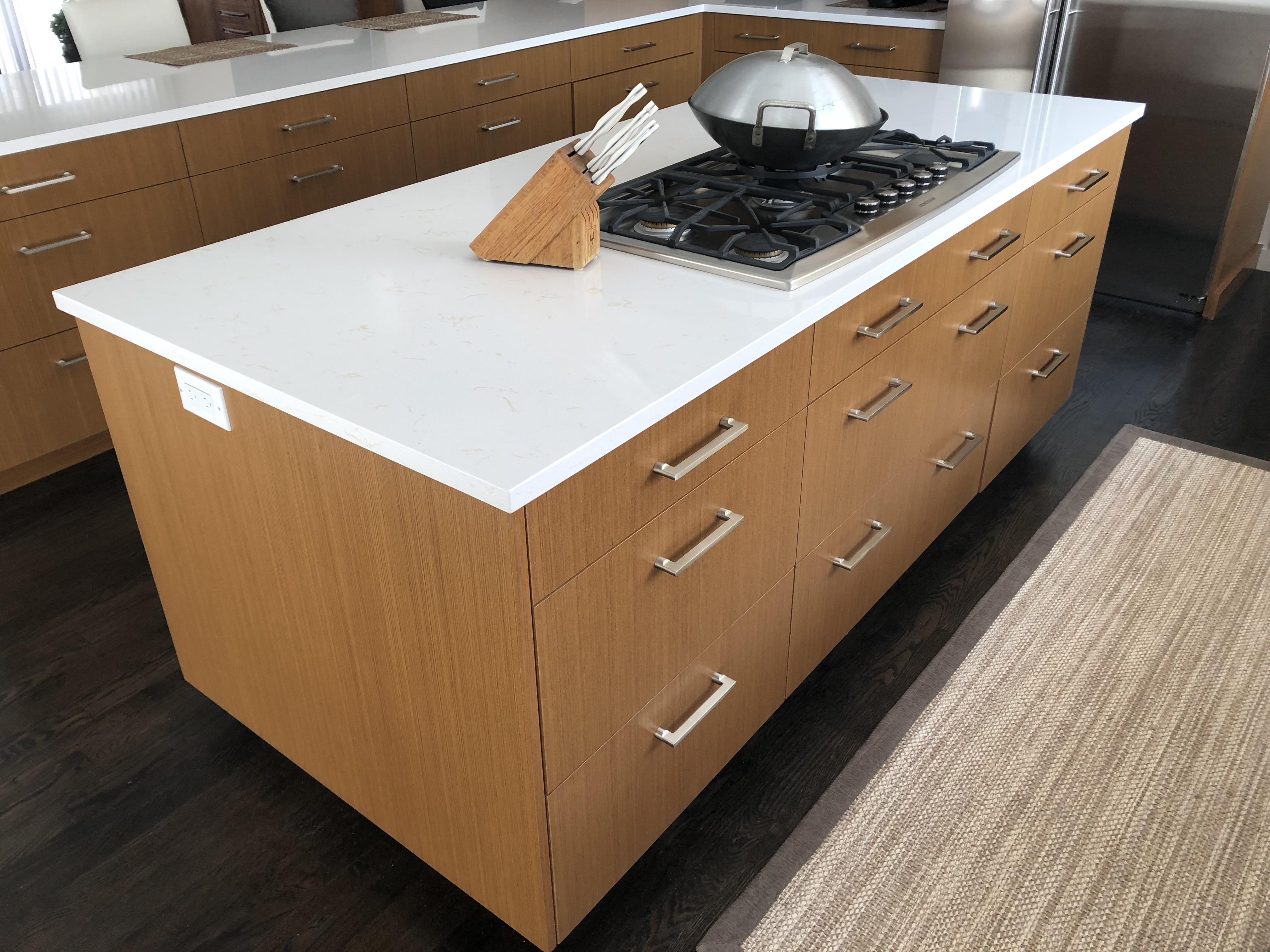 Rutt Cabinetry - Flat Panel - Teak
