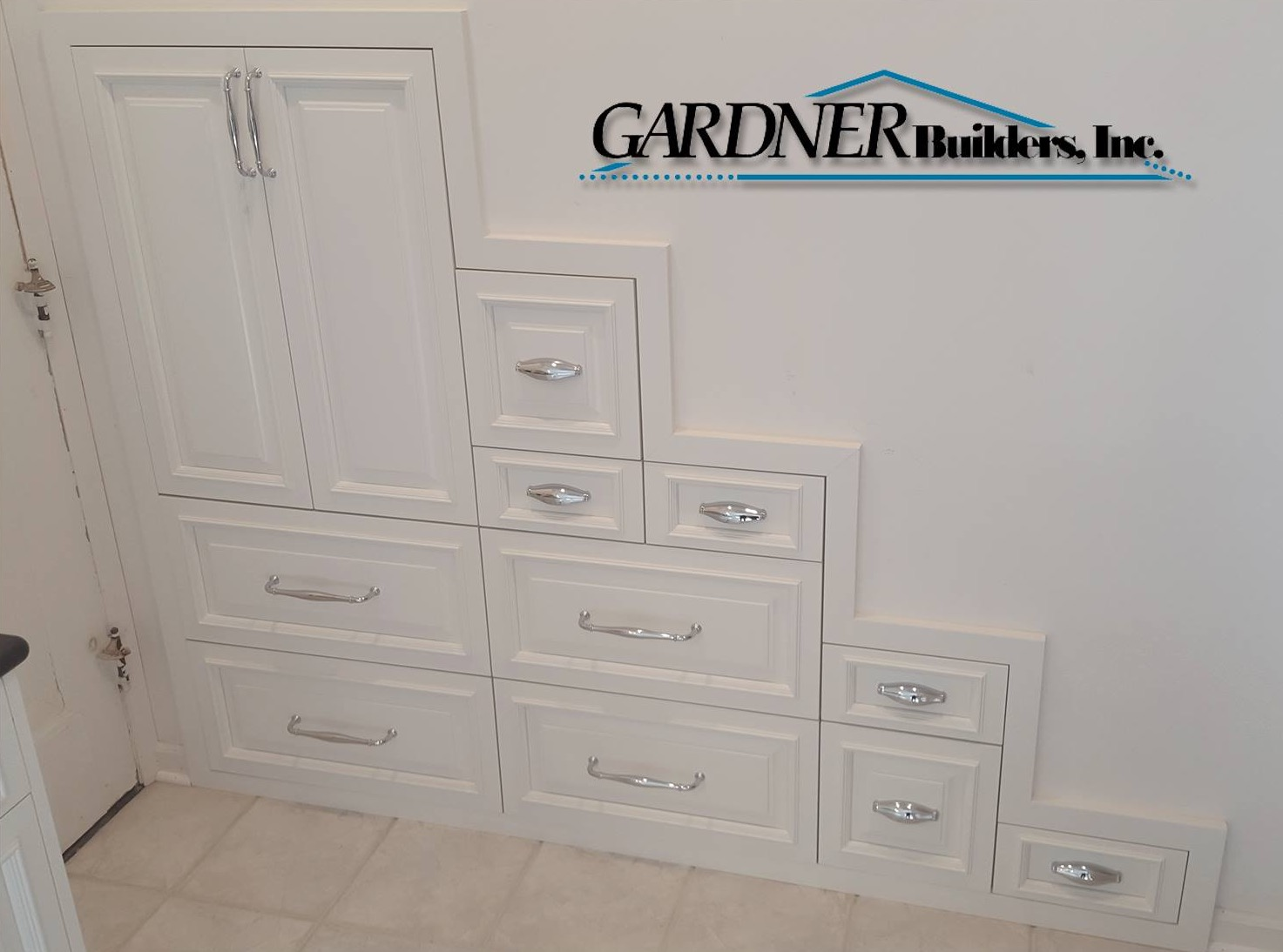 Staircase Cabinetry Storage