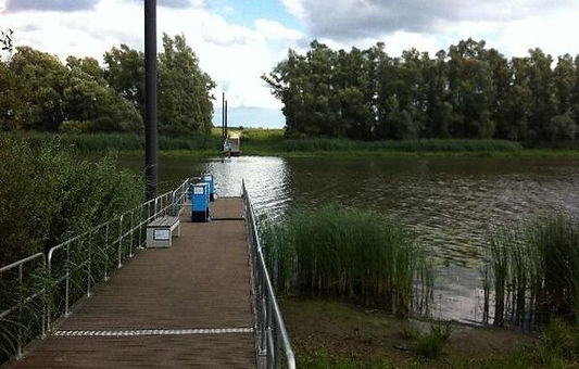 trekpontje Oude Waal Byland Herwen