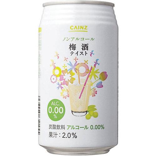 CAINZ Plum Wine ALC.0 Cainz無酒精梅酒飲料  (Box/箱 of 24 Cans罐)