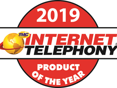 Accent Receives 2019 INTERNET TELEPHONY Product of the Year Award