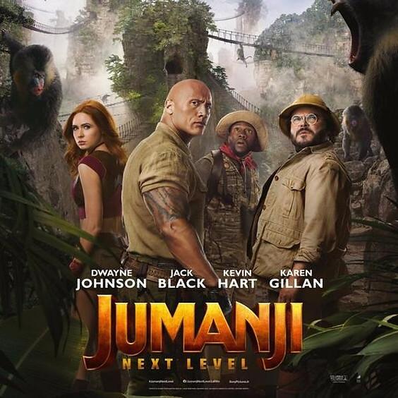 Jumanji: The Next Level (PG 13)