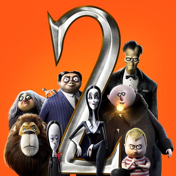 The Addams Family 2 (PG-Screen 1)