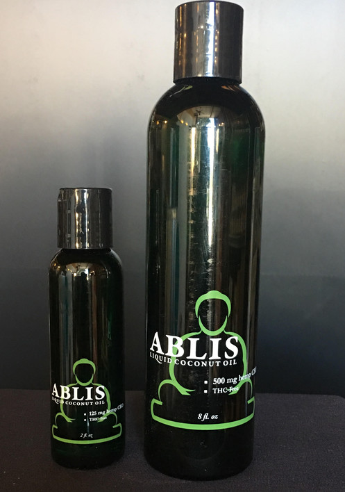 Ablis MCT Fractionated Coconut Oil 2 oz