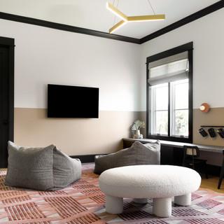 1-Modern playroom-kids room-Terracotta w