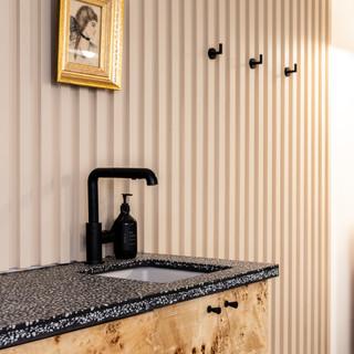 8-vintage modern-black wall hooks-framed