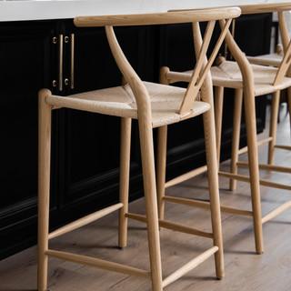 16-wishbone chairs-black island-white co