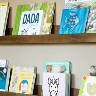 8-Modern playroom-kids room-book collect