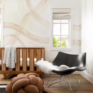 14-Modern nursery-brown knot floor cushi