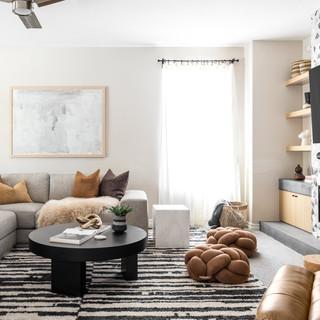 18-Scandinavian living room-Desert Moder