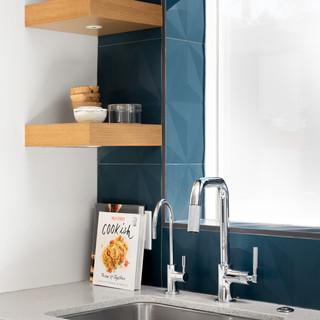 6-Mid Century Modern-Modern Kitchen-Glaz