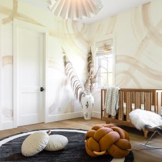 15-Modern nursery-brown knot floor cushi