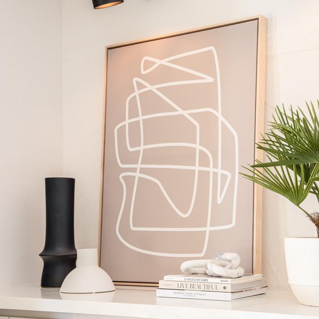 31-scandinavian modern decor-black wall