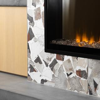 22-Scandinavian living room-terrazzo fir