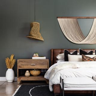 31-scandinavian bedroom-accent wall-mode